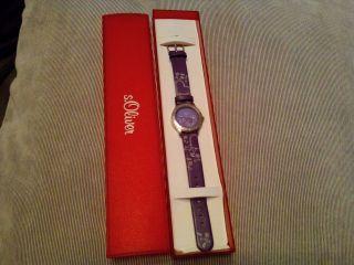 S.  Oliver Armbanduhr Für Mädchen Bild