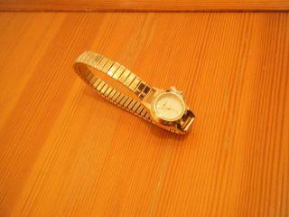 Damen - Armbanduhr,  Quarzuhr,  Bijour Brigitte - Design,  Gliederband,  Goldfarben Bild