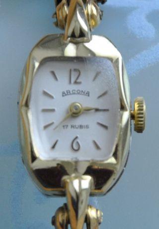 Anker Arcona Damen Armbanduhr V.  1961, Bild