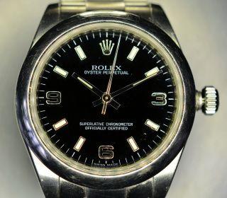 Rolex Uhr Oyster Perpetual 177200 Bild