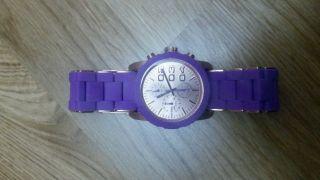 Diesel Uhr Damen,  Damenuhr,  Armbanduhr,  Lila,  Dieseluhr,  Dieseluhr Dz - 5361 Bild
