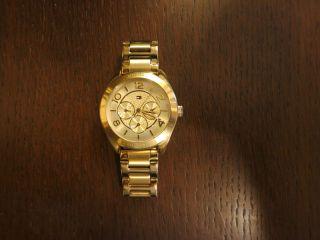 Tommy Hilfiger Uhr Damenuhr Gracie 1781214 Armbanduhr Gold Multifunktion Bild