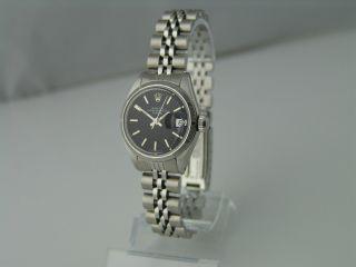 Rolex Oyster Perpetuel Lady Date Uhr In Stahl Ref.  : 6919 Bild
