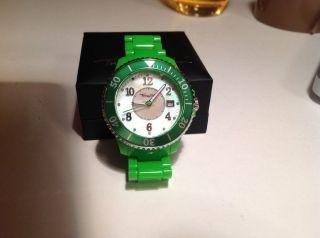 Thomas Sabo Uhr,  Kunststoff,  Grün,  Neuwertig Bild