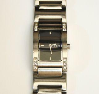Damenuhr Tcm Edelstahl Armband Eta 802.  004 Werk Mit Neuer Batterie Damen Uhr Top Bild