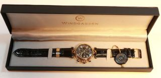 Windgassen Automatick Glasboden Chronograp Uhr Watch Bild