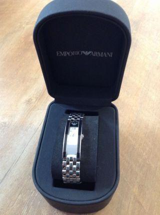 Damenuhr Emporio Armani Silber,  Klassisch,  Elegant Bild