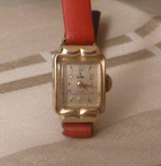 Alte Zentra Damen - Armband - Uhr Mechanisch Uhr Läuft Bild