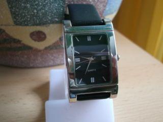 Herrenuhr Damenuhr Armbanduhr Hau Dhu Armband Schwarz 6,  99 Bild