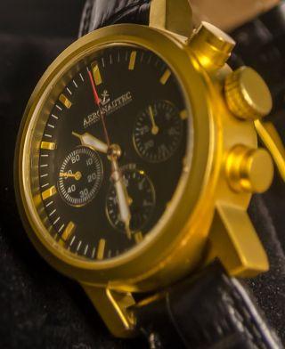 Aeronautec Skydiver | Automatik Chronograph | Ungetragen – Ovp | Ant - 0602 Gsa Bild