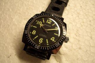 Anker Diver Nos Alte Herren Armbanduhr 70 ' Er J.  Kal.  Hpz170 Sehr Guter Gebr Zust. Bild
