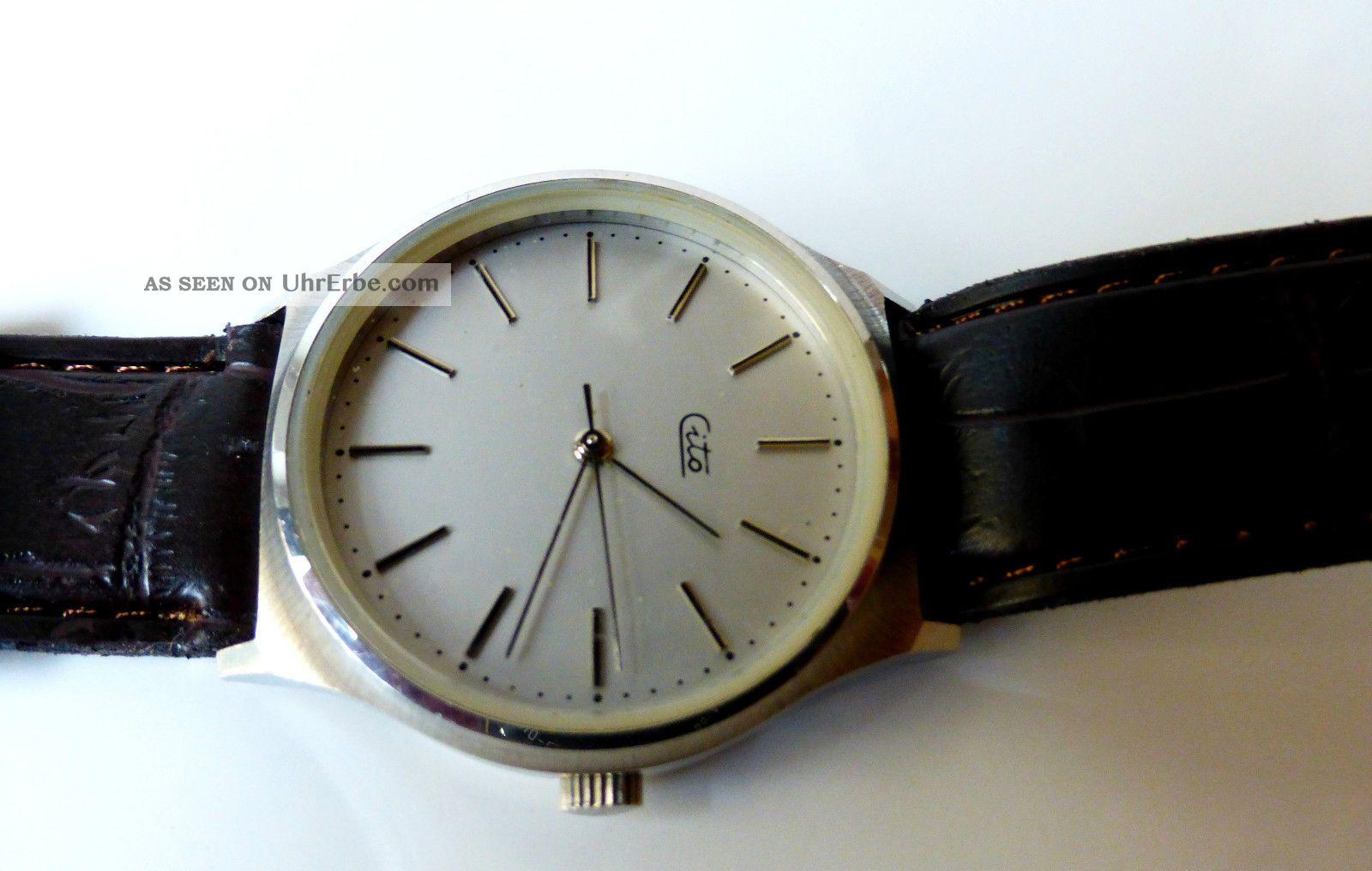 Hau Cito Schöne Herren Armbanduhr Armbanduhren Bild