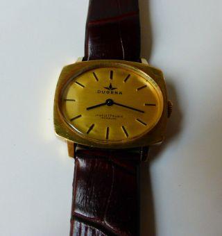 Hau Dugena Alte Dugena Herren Armbanduhr Handaufzug Bild