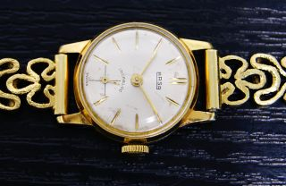Damenuhr Massiv Gold 585 / 14 Kt Bild