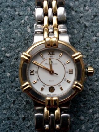 Armbanduhr Maurice Lacroix Calypso Steel/gold Plated Bild