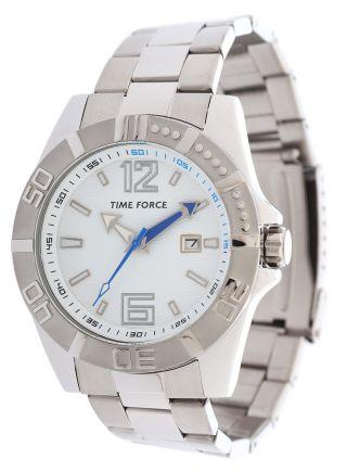 Time Force Herren Armbanduhr Belgrano Silber Tf4088m02m Bild