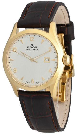 Edox Wrc Classic Date Quarz 33017 37j Aid Bild
