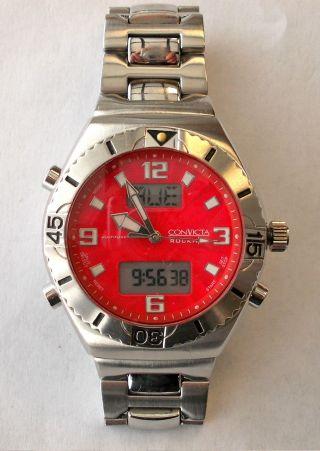 Convicta Rockham Armbanduhr Rockham C113009 Herrenarmbanduhr Multifunktion Bild