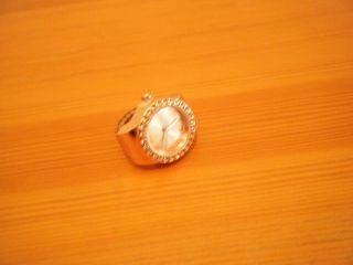 Damen - Fingerring - Uhr,  Quartz,  Bijour Brigitte - Design,  Gliederband,  Goldfarben Bild