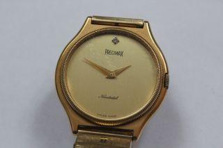 Precimax Neuchatel Swiss Made Herrenarmbanduhr Mit Handaufzug Peseux 7001 Bild