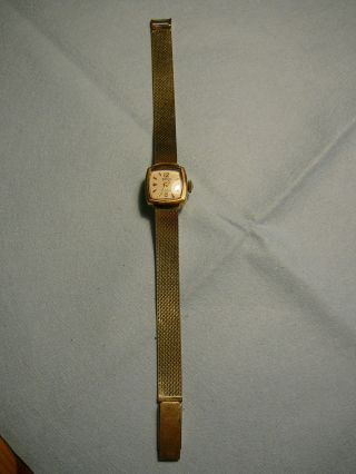 Roxy Armbanduhr 17 Rubis Gold 585 (585er) Bild