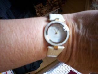 Armbanduhr Von Christian View (schweiz) M.  Facett.  Glas In Weiß Bild