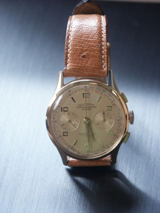 Chronographe Suisse Olympic 18kt 750 Gold Bild