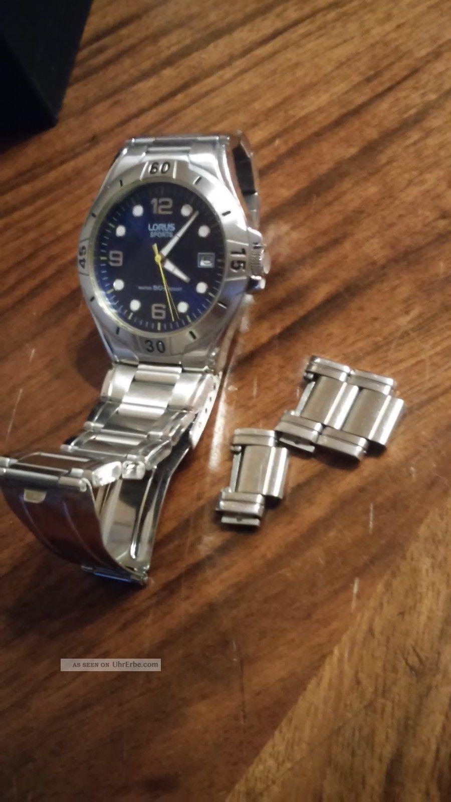 Herrenuhr Lorus Sports Armbanduhren Bild