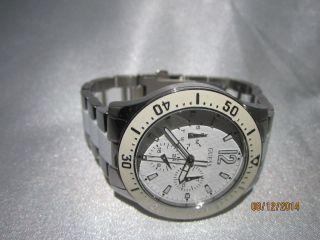 Guess Damen Armbanduhr Weiß/edelstahl Bild