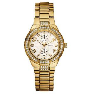 Guess Damen Armbanduhr Mini Prism W15065l1 Bild