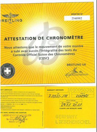 Breitling Superocean Héritage 46 Armbanduhr Für Herren (a13320) Bild
