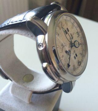 Herren Uhr Ulysse Nardin Gmt Automatik Handaufzug. Bild