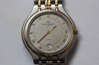 Hochwertige Elegante Michel Herbelin Paris Quartz Herrenarmbanduhr Eta 955.  414 Bild