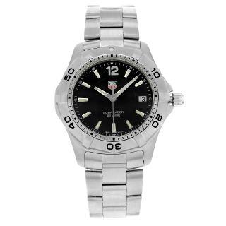Tag Heuer Armbanduhr Herren Aquaracer Waf1110.  Ba0800 Edelstahl Quartz Bild