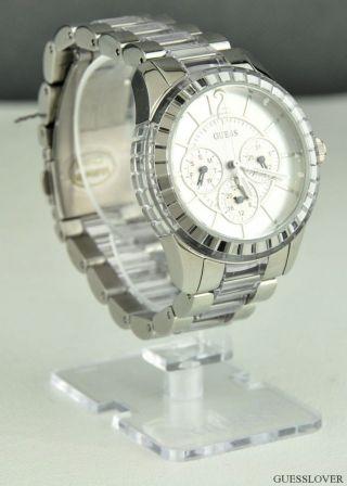 Uhr Guess Silber Edelstahl Damen Neuf W13582l2 Deu Bild