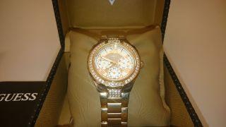 Damen Armbanduhr Guess Viva Sport Steel 0111l3 Roségold Edelstahl - Armband Bild
