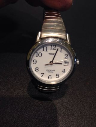 Timex Damenarmbanduhr Indiglo Flexband Bild