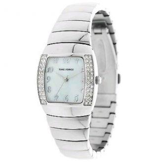 Time Force Damen Armbanduhr Queen Silber Quarz Edelstahl Bild