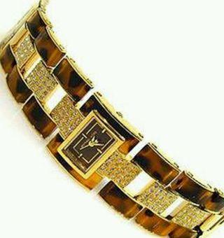 Michael Kors Mk4182 Armbanduhr Für Damen Mit Lederkarton Verpackung Bild
