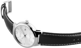 Wmc Herrenuhr 3 Atm Ziffernblatt Silber Datumsanzeige Armbanduhr Swm519 Bild