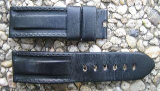 Orginal Panerai Leder Armband 24mm - 22mm Bild