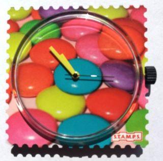 S.  T.  A.  M.  P.  S.  - Uhr - Sweet Candies Bild