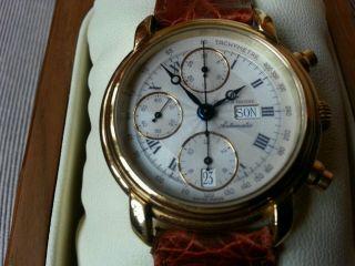 Maurice Lacroix Chronograph - Valjoux 7750 Uhr Bild