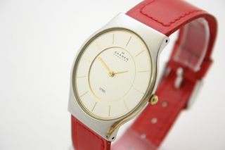 Skagen Steel Slim Herrenuhr Bild