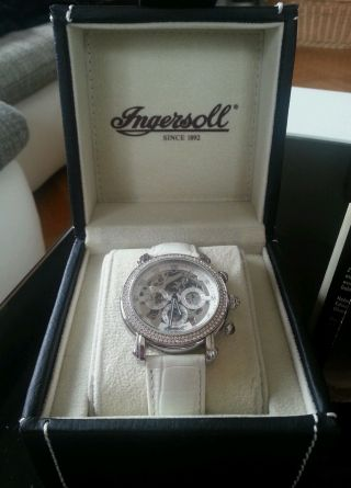 Ingersoll In7202 Armbanduhr Für Damen.  Limited Edition.  Chic Bild