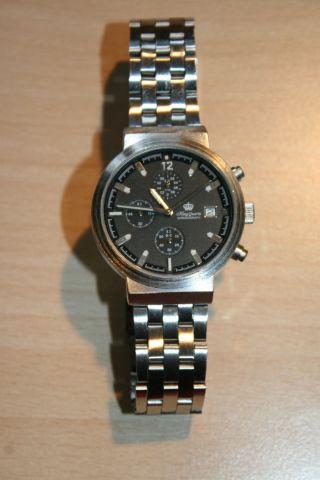 King Quartz Chronograph Armbanduhr 2 - Ld1057 - 8 Bild