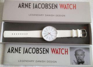 Rosendahl 43450 - 0710 46mm Arne Jacobsen Bankers Watch Armbanduhr Uhr Bild
