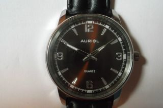 Auriol - Quarzuhr,  Braun Bild