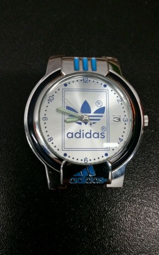 Adidas Uhr / Stainless Steel Back / Ohne Armband / Neue Batterie / Top Bild