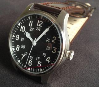Kemmner,  Century Of Aviation Fliegeruhr Automatik Armbanduhr - Keine Steinhart Bild